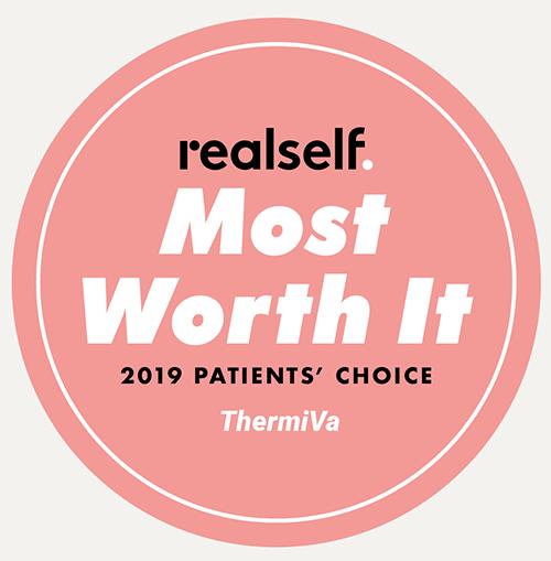 """THERMIva feminine rejuvenation is """"Most Worth It"""" on Realself"""